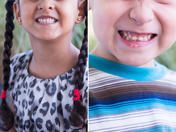 Campaign to End Camera Face - Cheese smiles on kids