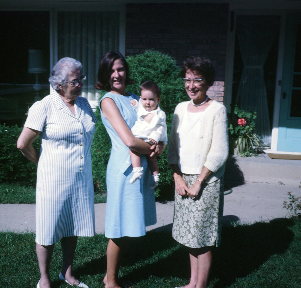 Photo I Never Took - me as a baby and three generations of women