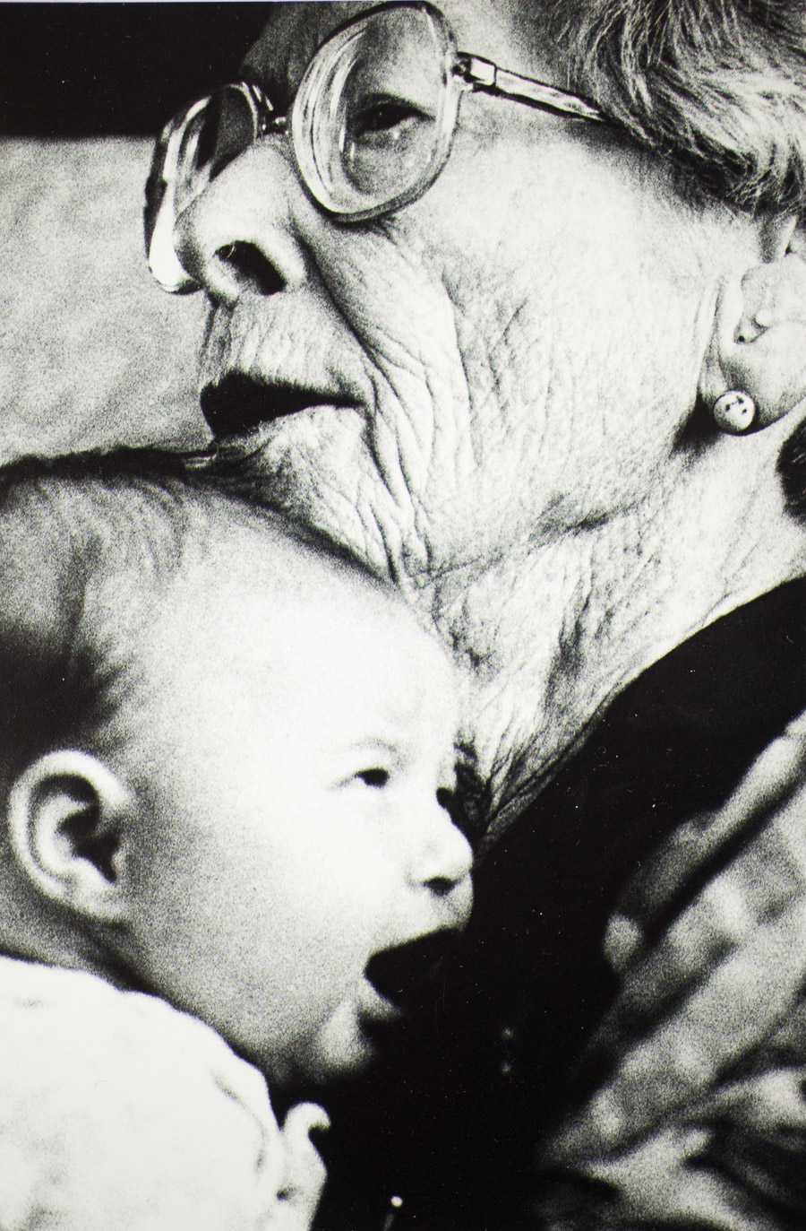 Photo I Never Took - tutu holding a baby