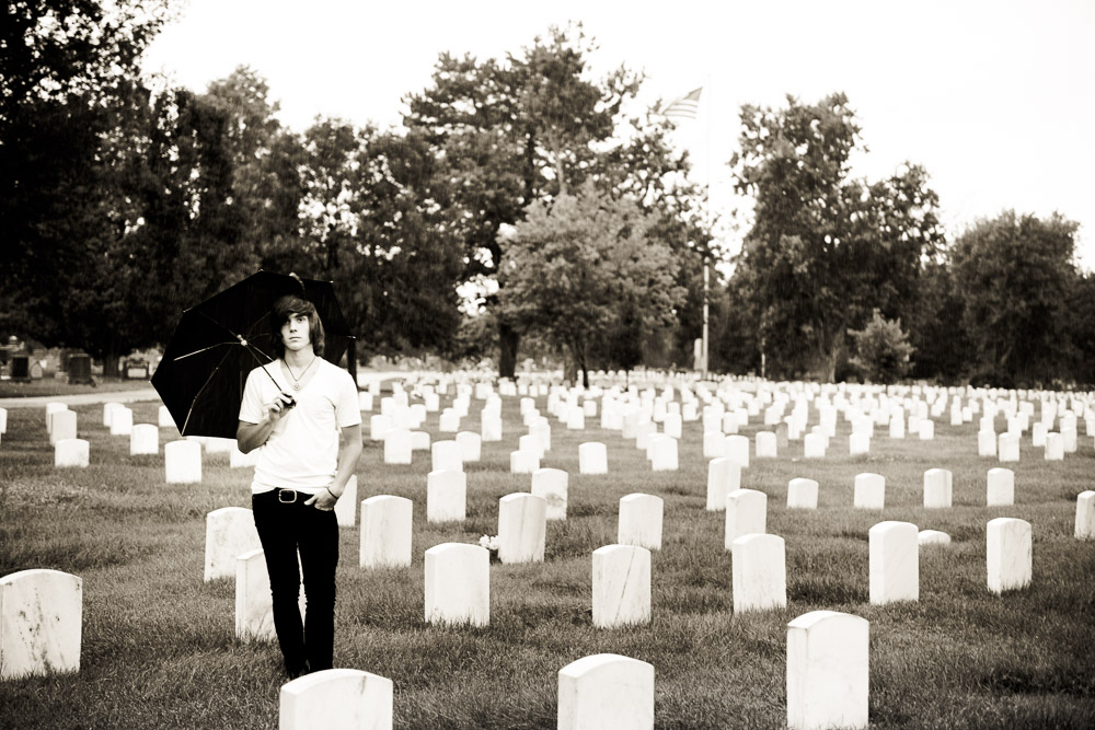 east high senior photos - among headstones channeling harold and maude