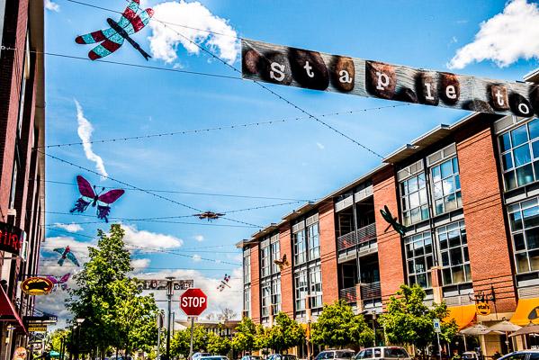 Stapleton downtown photo.