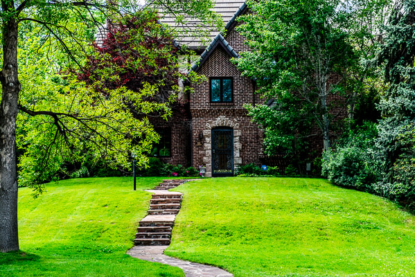 Hilltop old turdor home