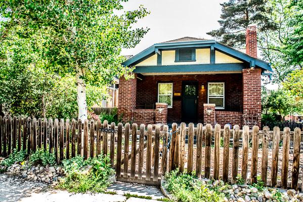 A bungalow.
