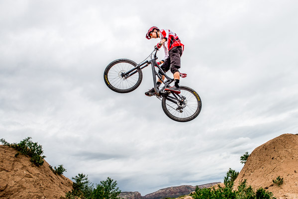 High school senior Enduro mountain bike photos