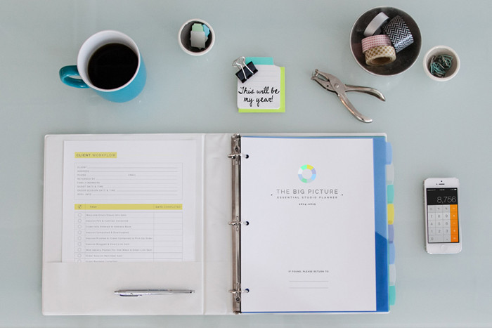 Best Planners for Photographers Design Aglow Photographers Planner