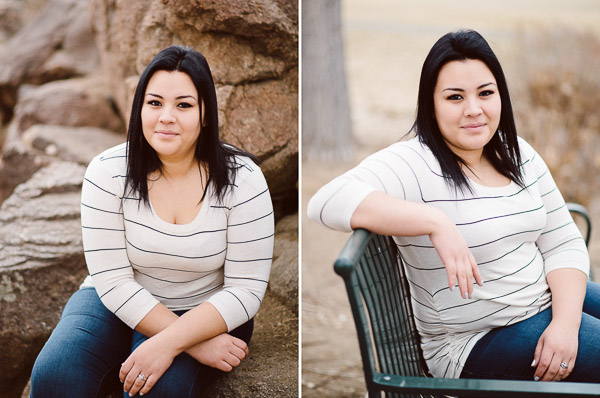 Senior Photos of young woman