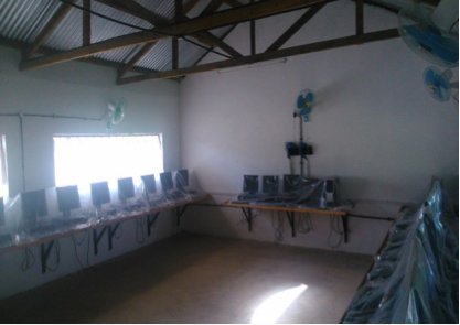 The first set of computers are installed & The first set of computers are installed - iMlango