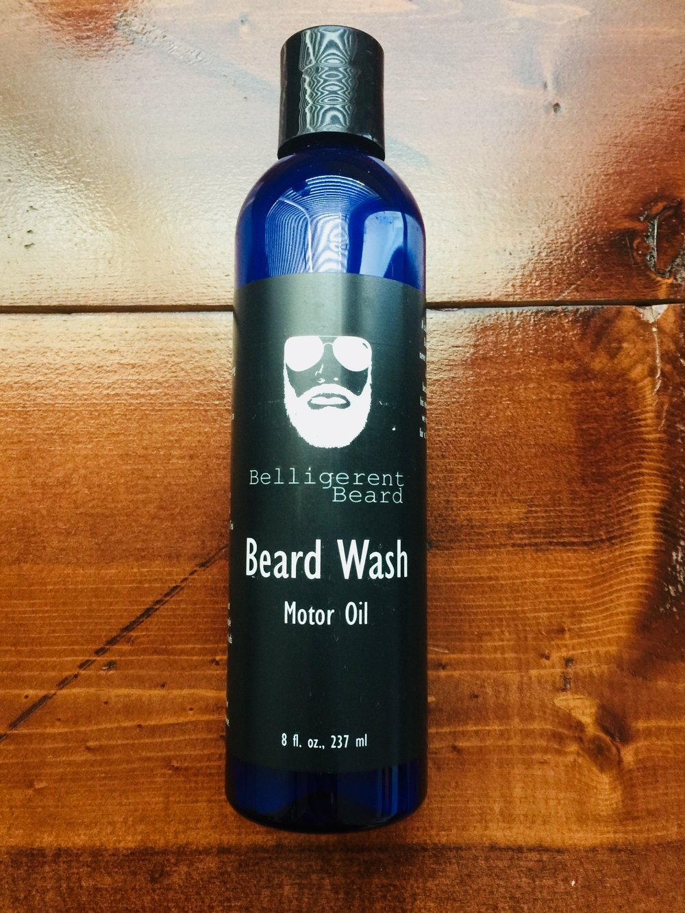 Motor Oil Beard Wash