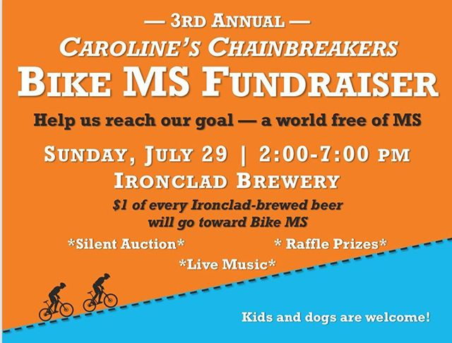 This Sunday come on out to @ironcladbrewery and help raise some money towards MS. Drink some beer, support your local community, and get a chance to win some of our product. • • • • • • #belligerentbeard #mensgroomingproducts #mensgrooming #highquality #handmade #smallbatch #beards #noshavelife #supportlocal #supportyourcommunity #wilmingtonnc #beardedveteran #veteranowned #beardlife #facejacket #silentauction #beerme