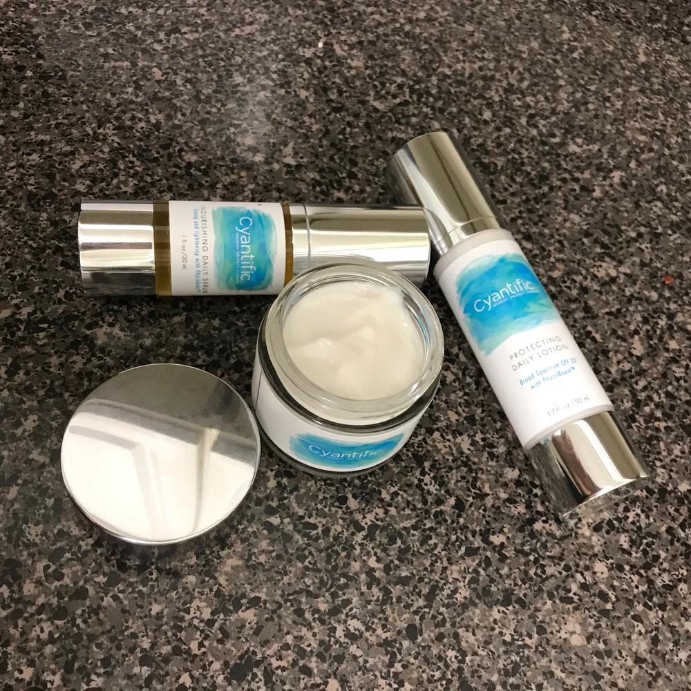 Cyantific skin care