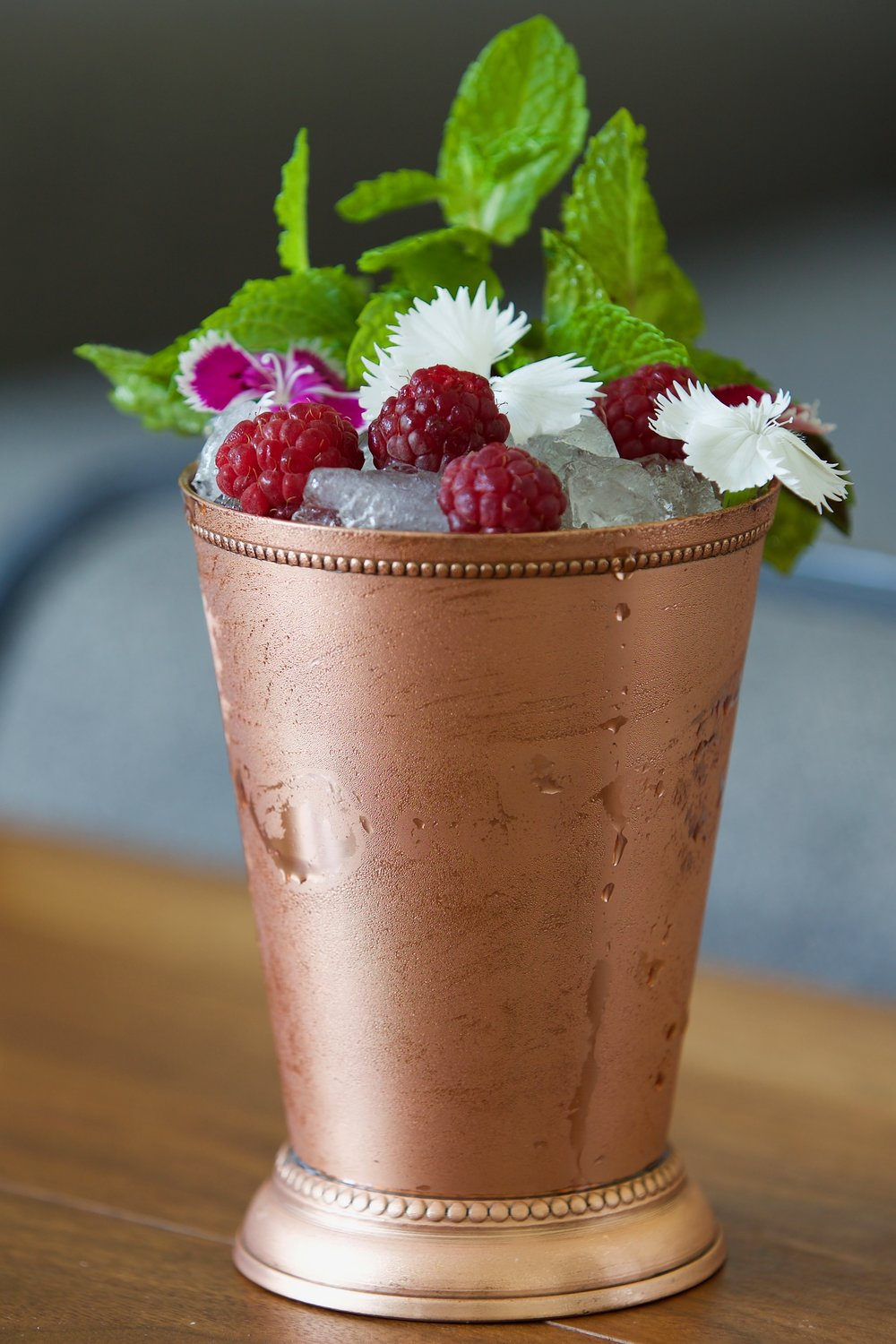 John Dabney'sHail-Storm Mint Julep → - Recipe adapted from Wendell Dabney by culinary historian Robert Moss