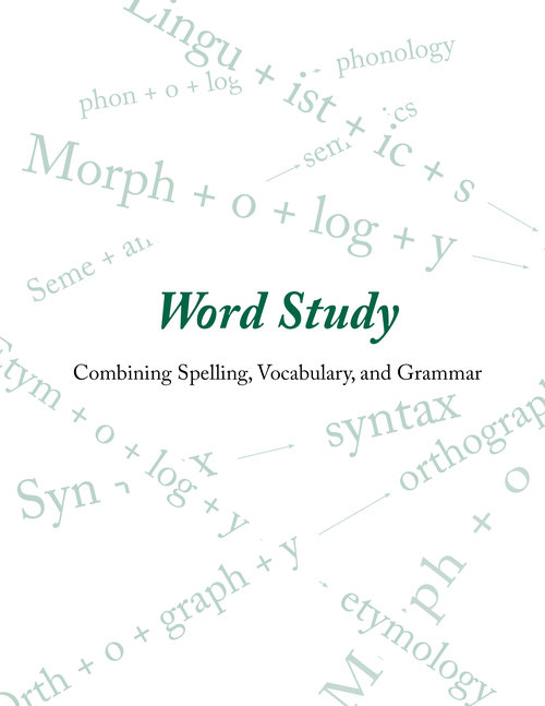 word study curriculum rooted in language