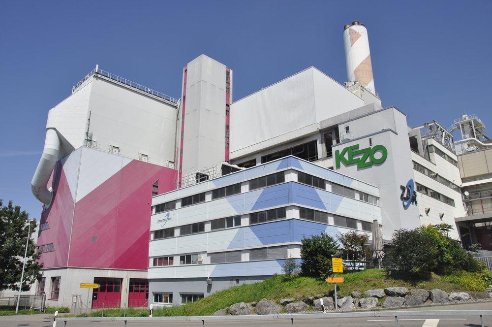 90% der KEZO-Abwärme verpufft ungenutzt in die Luft