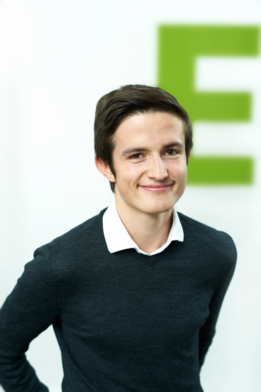 Benjamin Walder, 21 Jahre, 3. Listenplatz