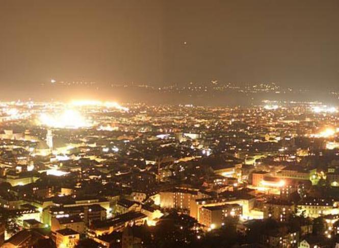 Auch in Wetzikon ist die Lichtverschmutzung ein zunehmendes Problem.