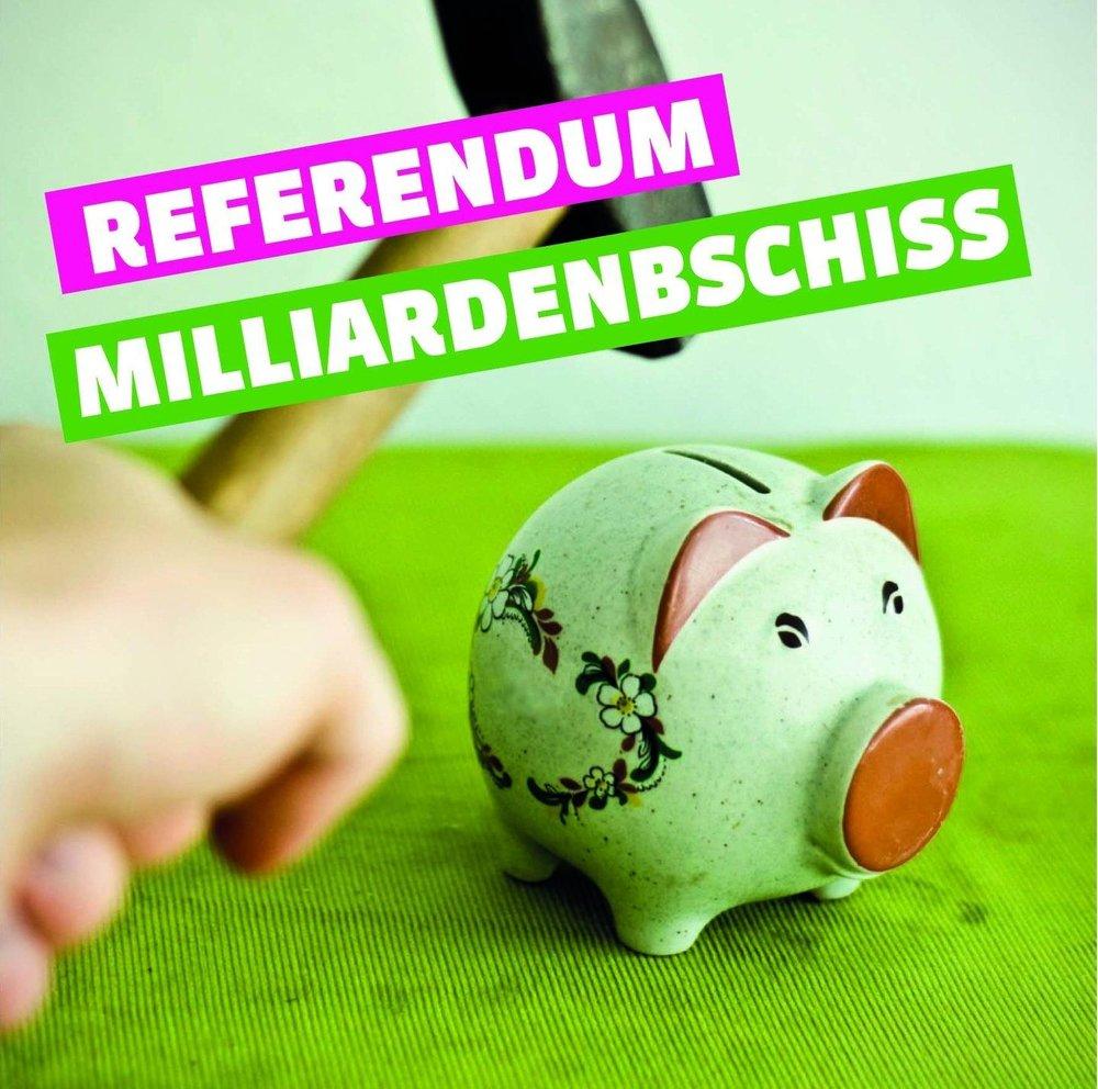 """Referendum  """" Steuervorlage 17 """"    Hier klicken     und unterschreiben"""
