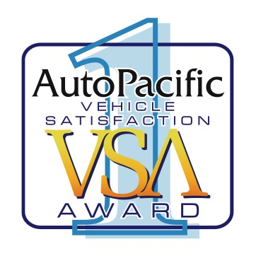 vehicle satisfaction award (vsa)  AutoPacific VSAs are the industry benchmark for objectively measuring how satisfied an owner is with their new vehicle. Respondents rate 40 attributes for importance in the purchase decision and satisfaction after purchase. AutoPacific VSAs are very different from other automotive awards that concentrate on reliability or quality to the exclusion of owner satisfaction.