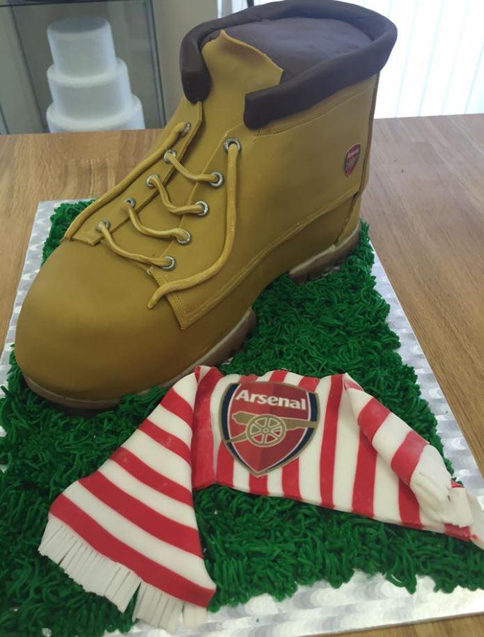 Timberland Boot Cake