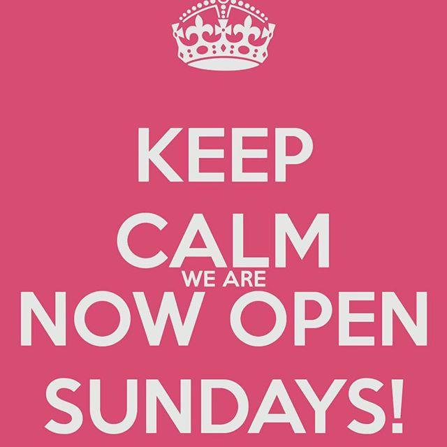 Open tomorrow- Sunday!!!!! #ellesquared #shoplocal #bestsale