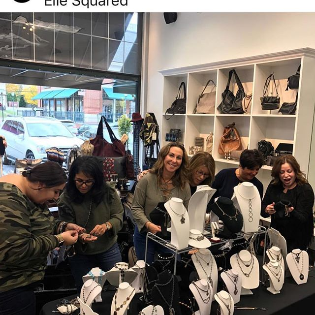 So excited!! @piecesstaceynjanet are coming back on Friday December 15! This time they will have their fab jewels AND workout clothes!! Don't miss it. #piecesstaceynjanet #jewels #workoutclothes #ellesquared