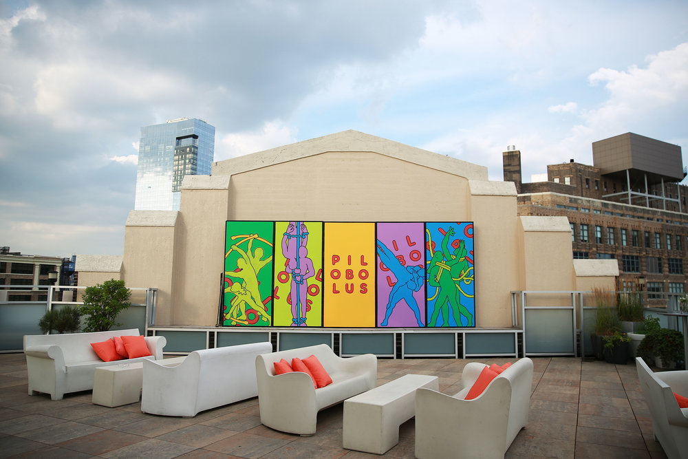 Custom Step N Repeat Installed at Tribeca Rooftop.jpg