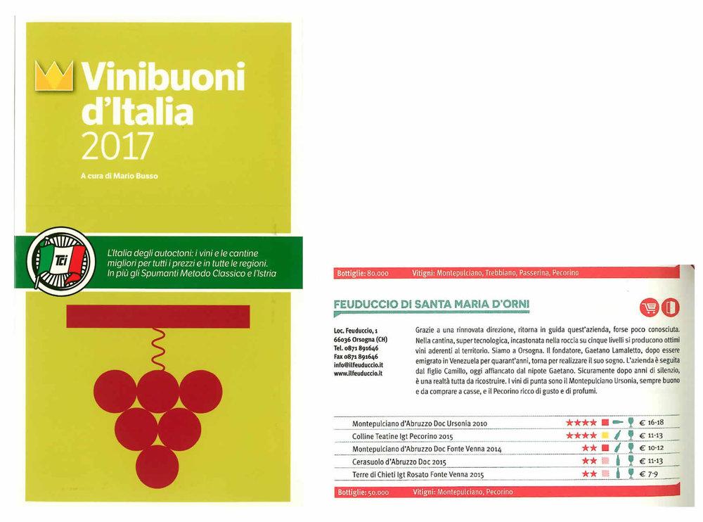 Vinibuoni d'Italia 2017