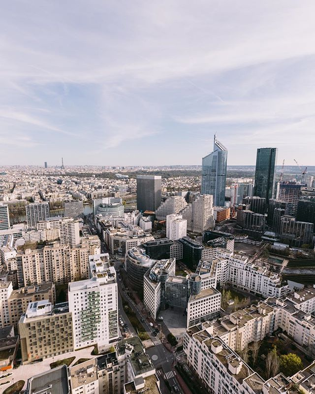 About yesterday above La Défense.