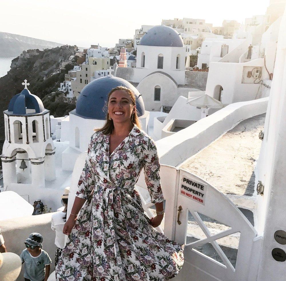 Santorini  - The Adventure Decade