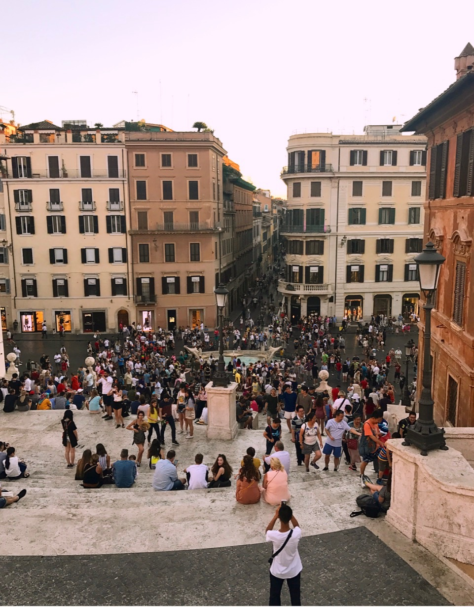 Spanish Steps - The Adventure Decade