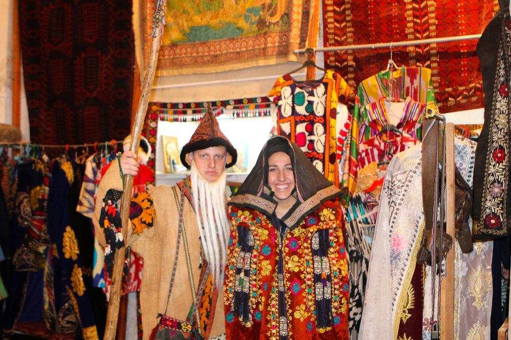 Traditional Uzbek Dress - The Adventure Decade