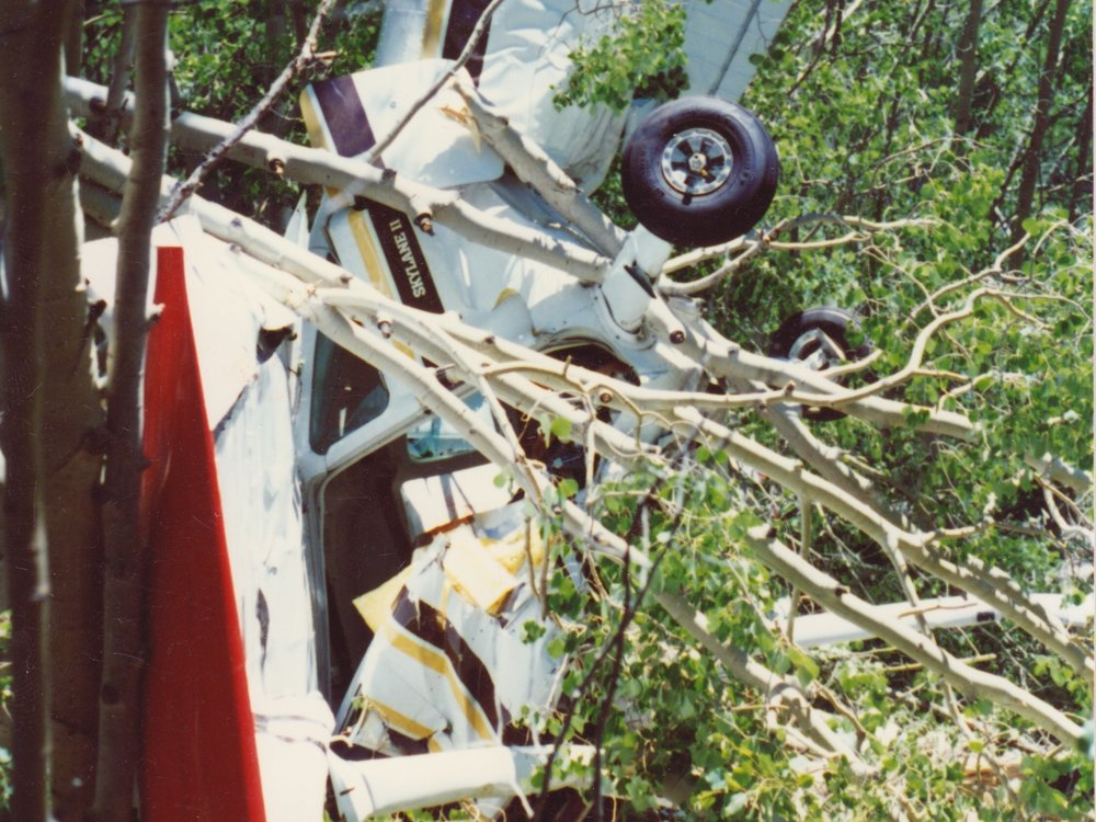 005 | AUG 11, 1988 - During an air search, a Civil Air Patrol plane crashes into Pendleton Mountain killing the pilot, Terry Leadens, and badly injuring the spotter, Don Drobny.