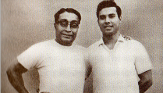Bishnu Ghosh and Bikram Choudhury