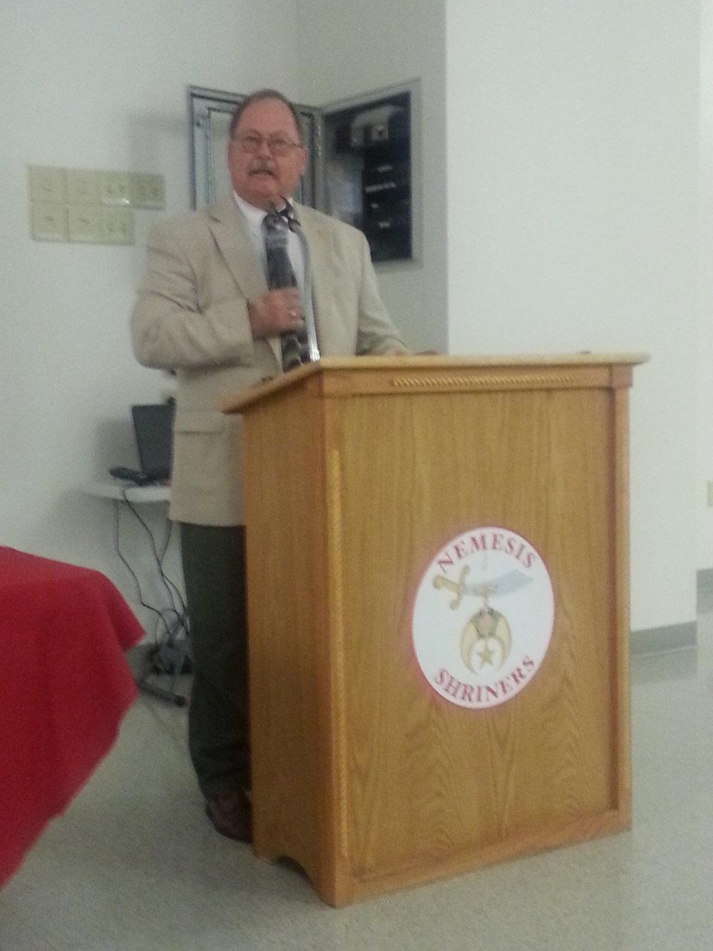 Mayor Randy Rapp