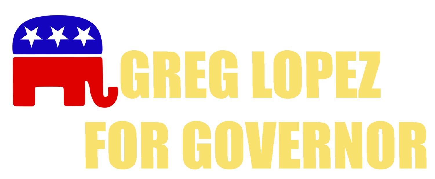 Greg Lopez for Governor