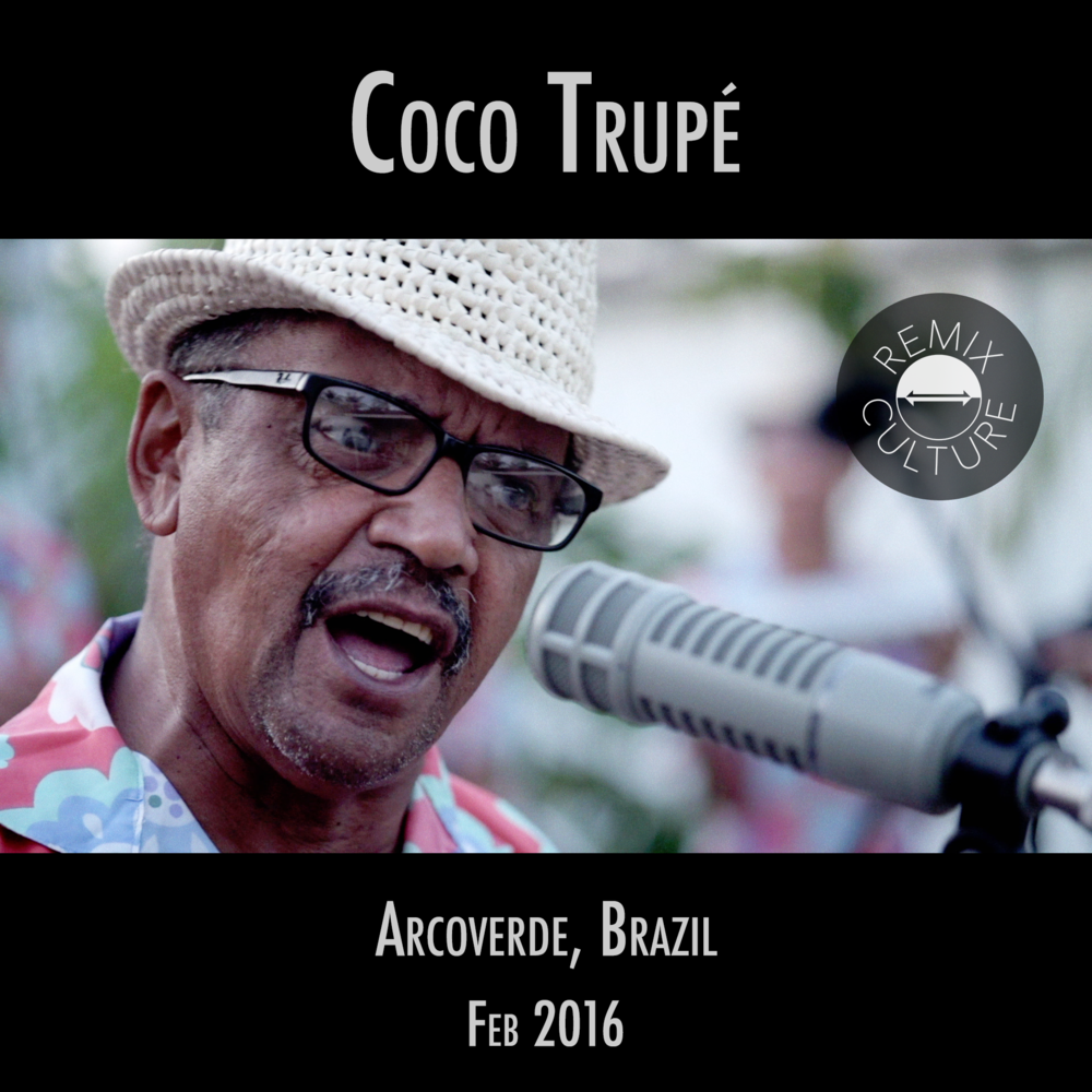 Côco Trupé  Lively, joyous music from Northeastern Brazil...with the funkiest tap dancing.