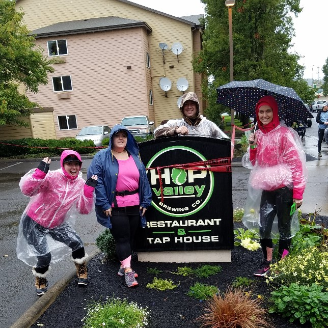 Hop to Hop 10K - Hop Valley is a local microbrewery and tap house that hosts an annual run/walk event to benefit the Eugene/Springfield Chapter of the American Cancer Society.