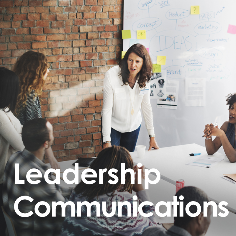 Leadership communications training