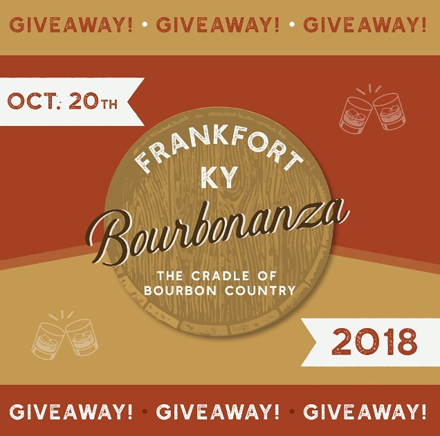 OFFICIAL BOURBONANZA 2018 TICKET GIVEAWAY!!! One lucky winner will be randomly selected to receive TWO FREE TICKETS to Bourbonanza 2018! ---------------------------------------------- TO ENTER: . -FOLLOW us on Insta at @frankfortbourbonanza . -COMMENT on our post and tell us your favorite Kentucky Bourbon . -TAG 3 friends who you think would love to attend Bourbonanza . . Winner will be announced on FRIDAY, AUGUST 31st AT 8:00PM EST.  LIMIT only one entry per person and you must follow the above directions to be eligible to win. This giveaway is in no way affiliated with Instagram. Open to anyone 21yrs+ in the USA.  #giveaway #tickets #free #bourbonanza