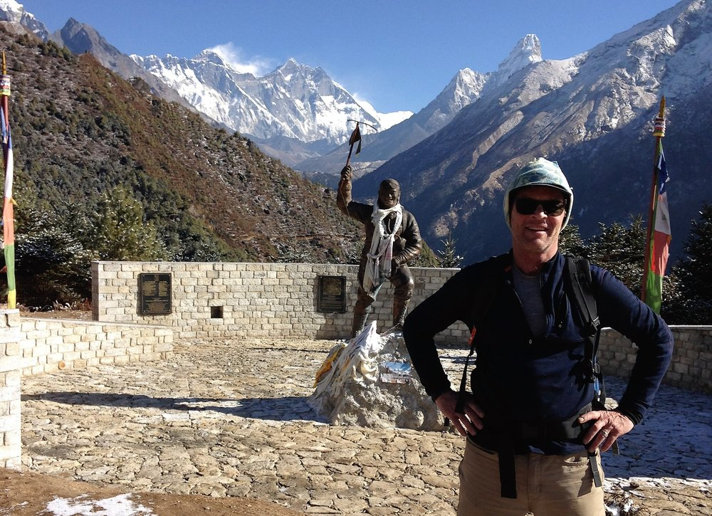 Doug in Nepal in January 2017