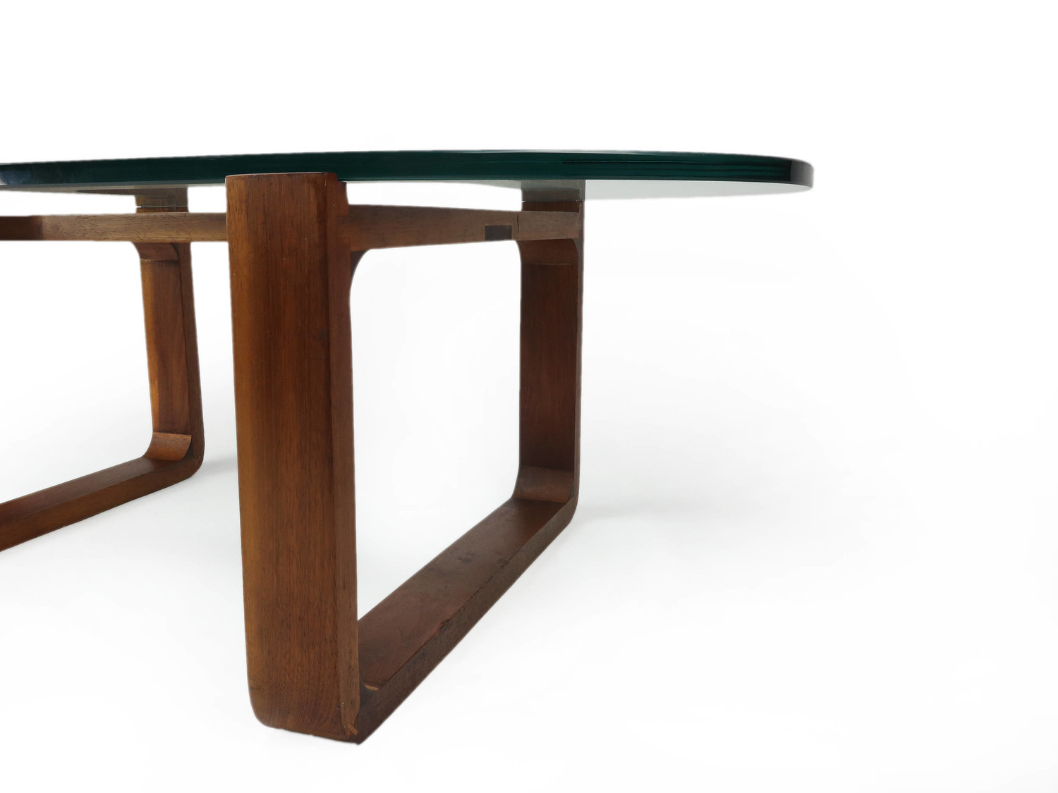Fred camp glass top coffee table tenon design fred camp glass top coffee table geotapseo Image collections