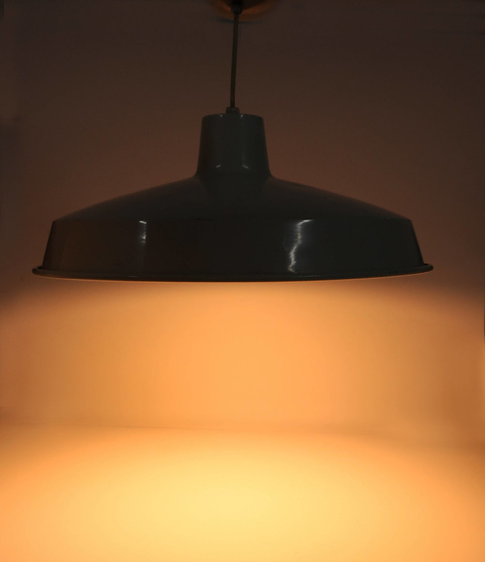 metal lighting. Pair Of Vintage White Enamel Metal Pendant Light Fixtures Lighting .