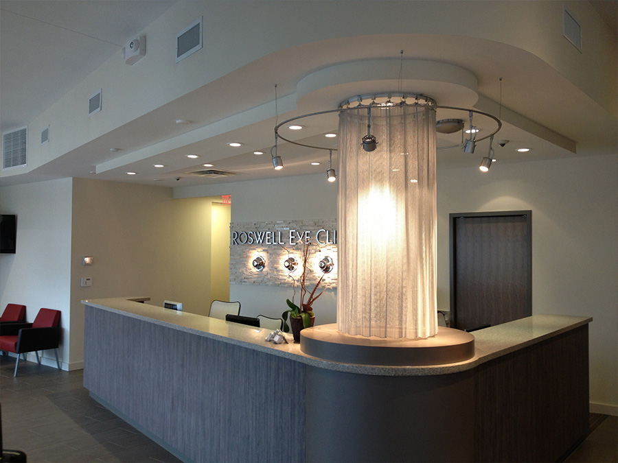 Office Medical Roswell Eye Clinic Vision Construction Atlanta