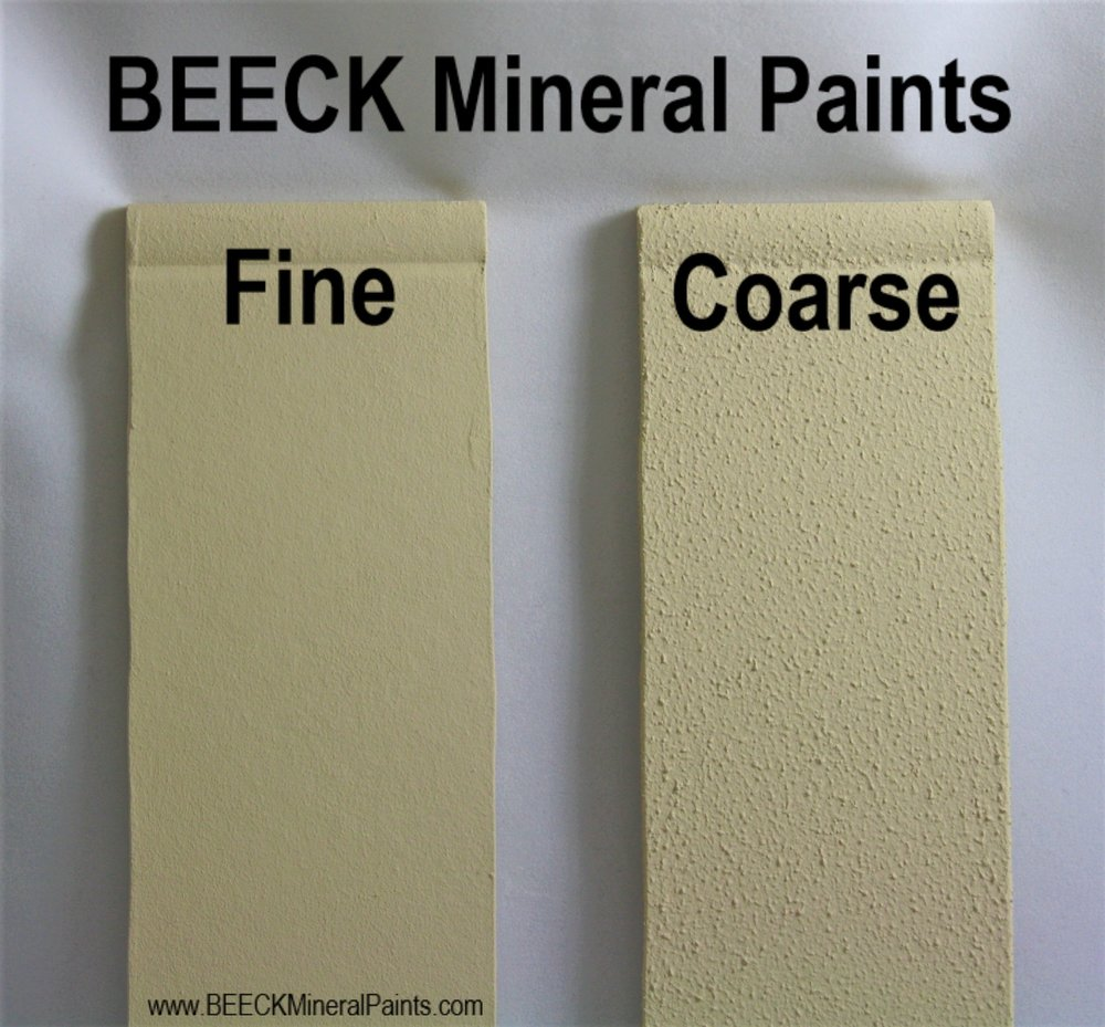 BEECK Mineral Paints Coarse and Fine