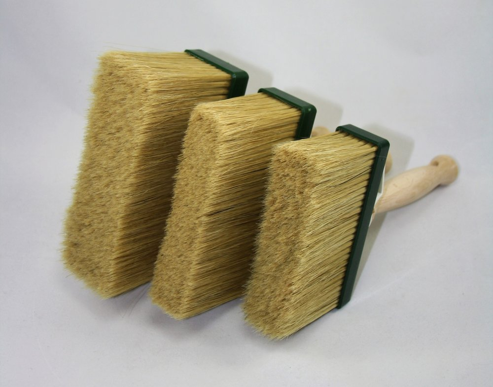 Tradesman Brushes - Large, Medium and Small