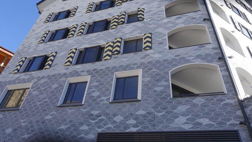 BEECK Concrete Stone Glaze Project - Swiss Alps Resort Edelweiss 1