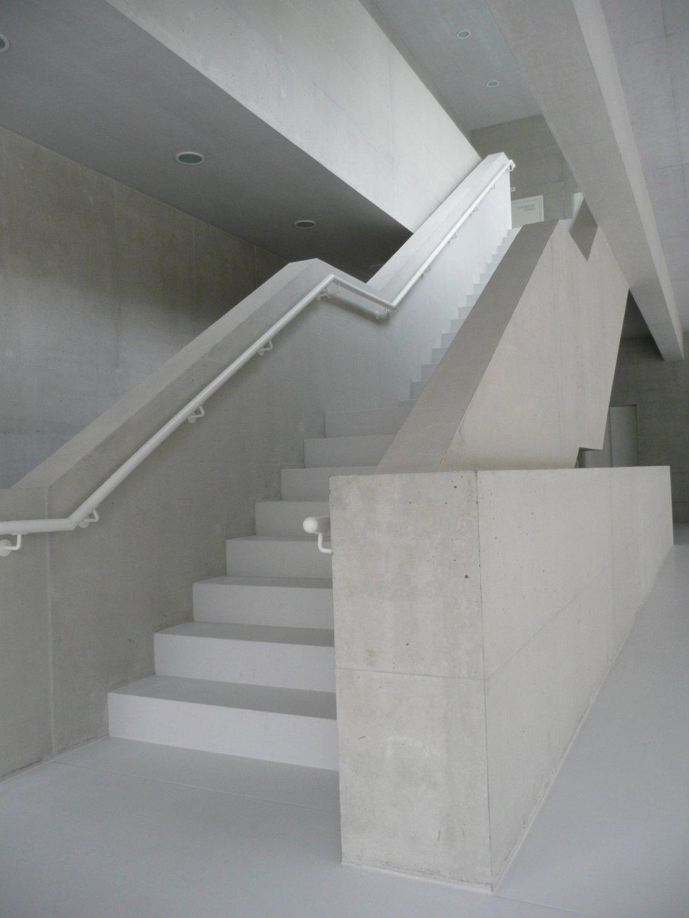 BEECK Concrete Stone Glaze Project - Gym in Liestal Switzerland 2
