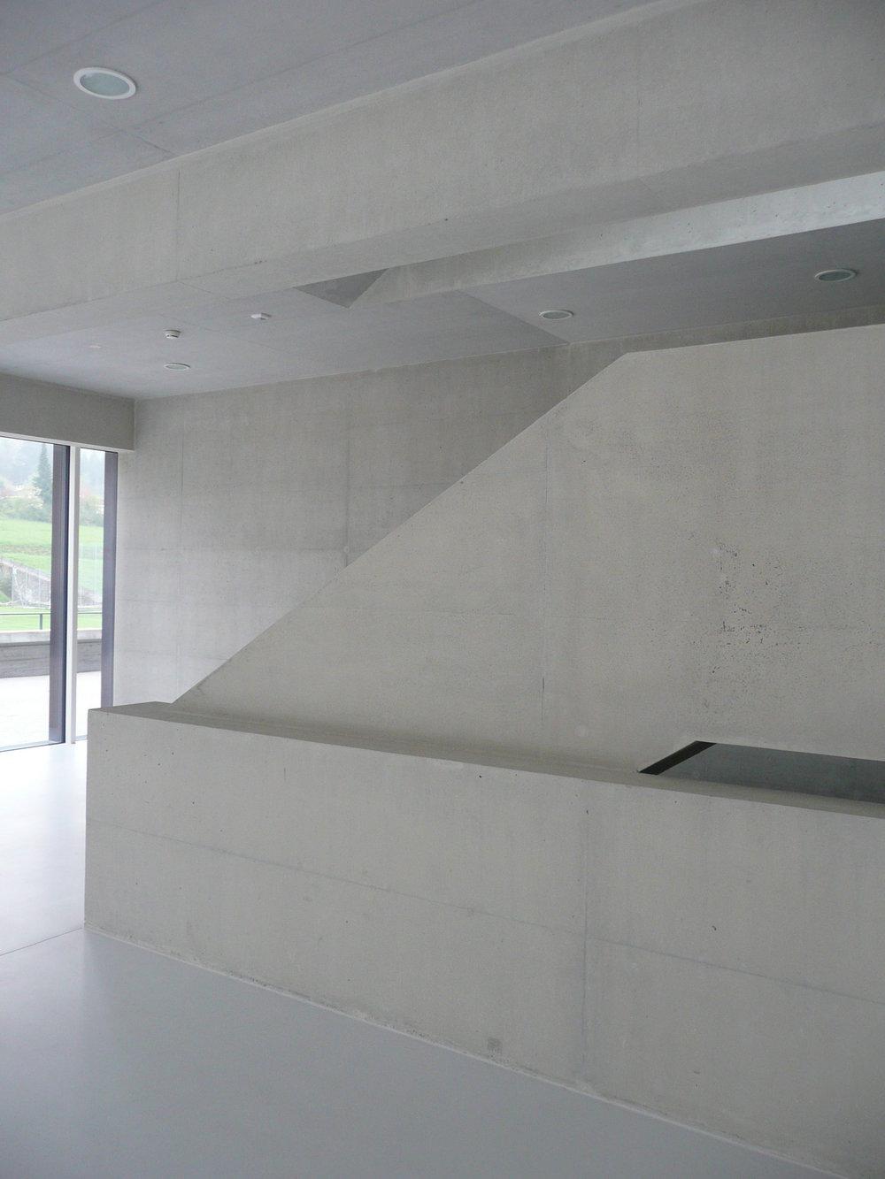BEECK Concrete Stone Glaze Project - Gym in Liestal Switzerland 3