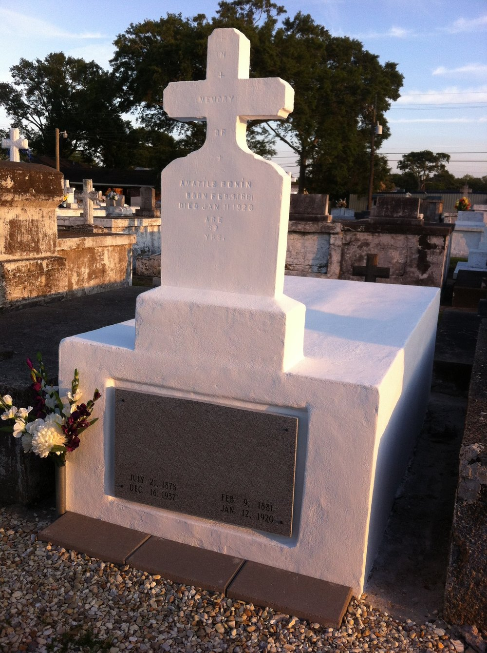 BEECK Beeckosil Project - Louisiana Tomb - Completed Restoration.jpg