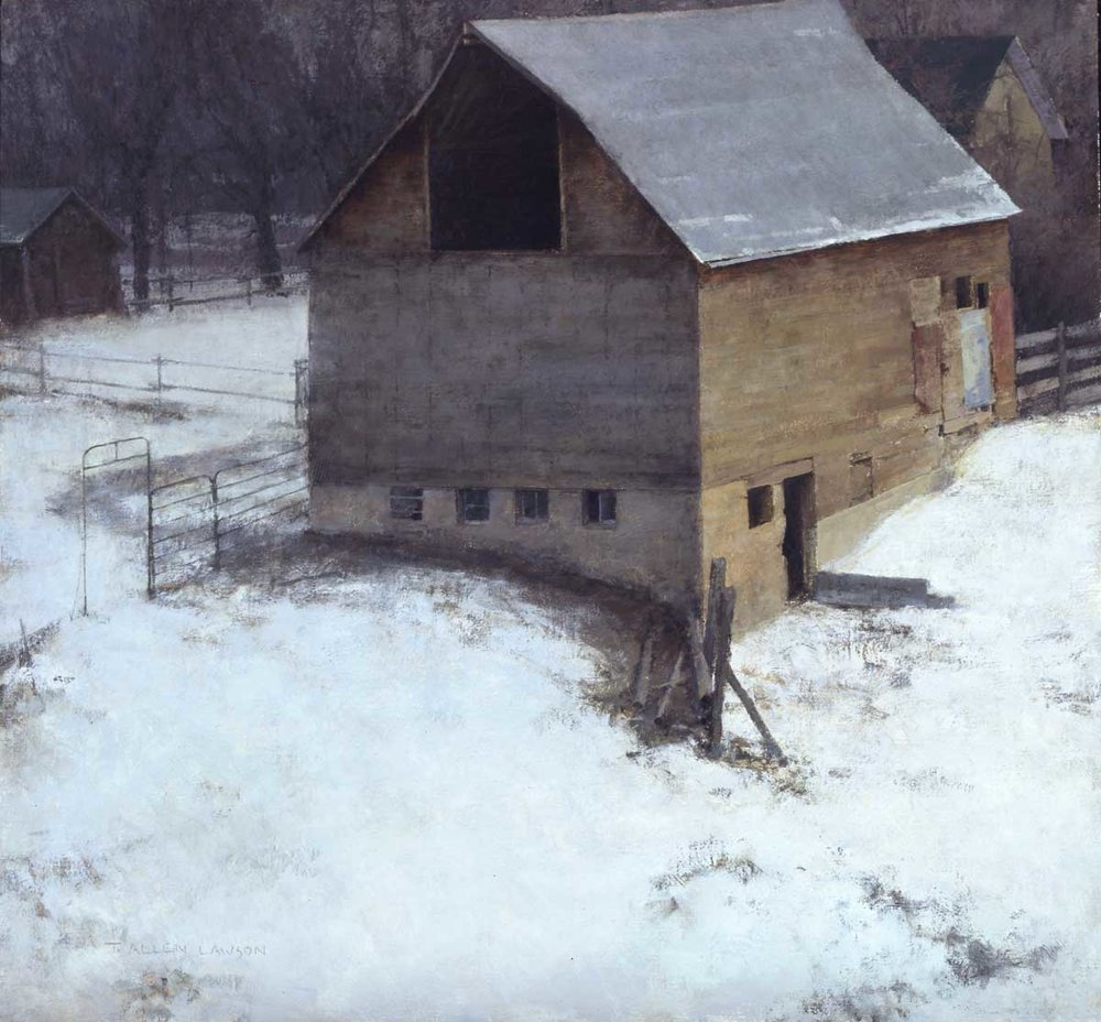 """Hibernation"" oil on linen, 26 x 28 in., 2009"