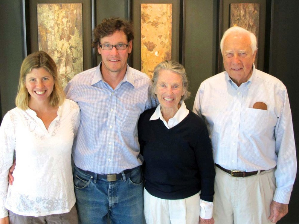 Dorie and Tim Lawson, and Rosalee and David McCullough